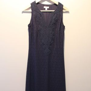 Lilly Pulitzer Navy Lace Westport Maxi Dress